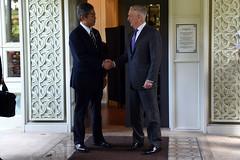 181019-D-BN624-0193 (Secretary of Defense) Tags: ussecretaryofdefensejamesnmattis jamesmattis jimmattis asean secdef japan'sministerofdefensetakeshiiwaya japan aseandefenseministers'meeting singapore