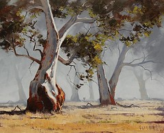 Gum Trees By Graham Gercken, Oil Painting (katalaynet) Tags: follow happy me fun photooftheday beautiful love friends