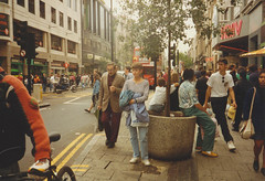 Åsa i London 1992 (Michael Erhardsson) Tags: åsa london england resa sommar augusti 1992