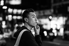 DSCF6161 (drkotaku) Tags: bw blackwhite blackandwhite candids fuji5612 fujixt2 manhattan newyorkcity photography portraits streetphotography streetportraits timessquare
