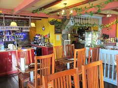 Greece... but not Greece (pefkosmad) Tags: olivebranch greek restaurant aberystwyth wales westwales food interior dining holiday vacation vacances holibobs