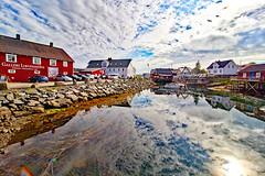 Norwegen - Lofoten, Henningsvær (www.nbfotos.de) Tags: norwegen norge norway lofoten henningsvær reflexion reflection spiegelung