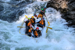Rafting (Siggi007) Tags: river rafting fleet wet water action waterfall sport outdoors rock rocks exciting thrilling nerves adrenalinerush kick people environment ride voss awesome gear colors view norway norwegen nature mood canon