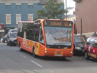 Go North East 5378 (NL63 YAD). Eldon Square Bus Station, Newcastle