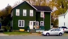 Neighborhood house - SFS (Maenette1) Tags: house stairs cars neighborhood menominee uppermichigan saturdayforstairs flicker365 allthingsmichigan absolutemichigan projectmichigan