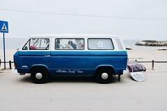 Aloha van (tropeone) Tags: baleal peniche portugal europe summer surf volkswagen kleinbus beach beachlife sand sea atlantic ocean car van