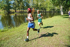 FLO06368 (chap6886@bellsouth.net) Tags: athletes athletics action sports highmiddleschool highschoolathletics boys girls team trees trails win water woods distance 5k xc usa