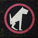 no pooping (by cubist dogs)