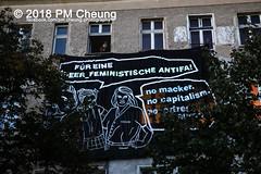 """Demonstration: """"Liebig 34 verteidigen! Queerfemistische Kämpfe sichtbar machen!"""" – 29.09.2018 – Berlin – IMG_7895 (PM Cheung) Tags: hausbesetzung demonstration liebig34 friedrichshain weide63 besetzen berlin 29092018 berlinfriedrichshain liebig34verteidigen liebig34verteidigenqueerfemistischekämpfesichtbarmachen gijorapadovicz demo wismarplatz häuserdemo feminismus gentrifizierung polizei wohnungsbauunternehmen solidaritätsdemonstration mieterprotest lärmdemo steigendemieten verdrängung protest protestfotografie zwangsräumungstoppen dorfplatz rigaerstrase pomengcheung wwwpmcheungcom bezahlbaremiete vertreibung wohnungspolitik mengcheungpo facebookcompmcheungphotography mieterhöhungen hausbesetzungen squat squatting berlinerlinie räumung hausräumung rigaer94 kadterschmiede herbstderbesetzunge liebig34bleibt protestdemonstration queerfeminismus solidaritätmitderliebig34 autonomeszene"""