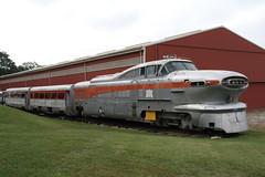 Transportation Museum, St Louis MO, USA (Paul Emma) Tags: usa missouri stlouis museum transportationmuseum railroad railway train dieseltrain