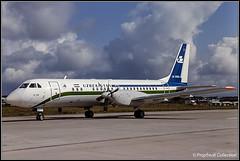 UK-91001 / Moscow? 09.1991 (propfreak) Tags: propfreak propfreakcollection slidescan moscow uk91001 ilyushin il114 uzbekistanairways