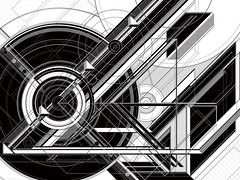 J. Series 289_mckie (Marks Meadow) Tags: abstract abstractart geometric geometricart design abstractdesign neogeo color pattern illustrator vector vectorart hardedge vectordesign interior architecture architectural blackwhite surreal space perspective colour asymmetry structure postmodern element cubism technology technical diagram composition aesthetic constructivism destijl neoplasticism decorative decoration layout contemporary symmetrical mckie