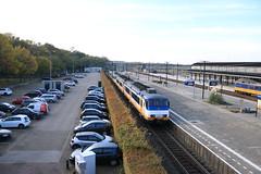 SGMm 2143 met een onbekende driedelige soortgenoot (vos.nathan) Tags: ns nederlandse spoorwegen sgmm 2143 amf amersfoort