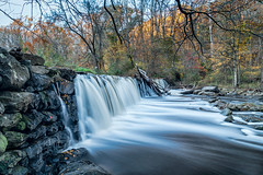 Sycamore Mills Dam (Brentg33) Tags: ifttt 500px stream waterfall moss lush foliage silver falls flowing water south sycamore mills dam ridlley creek state park pa visit pennslyvania long exposure bealpha sony alpha landscape autumn fall explore hiking outdoors