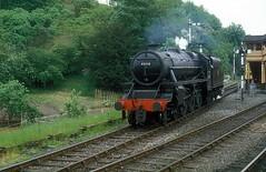 45110  Bewdley  26.05.80 (w. + h. brutzer) Tags: bewdley grosbritannien webru eisenbahn eisenbahnen train trains england dampflok dampfloks steam lokomotive locomotive analog nikon railway