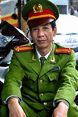 Officer, Hanoi (Valdas Photo Trip) Tags: vietnam hanoi street photography portrait