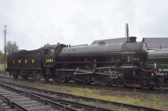 B1 1264 (as 1251 'Oliver Bury') at Loughborough [2 of 2] (parkgateparker) Tags: gcr greatcentralrailway loughborough 1264 1251 oliverbury