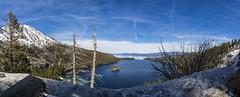 Emerald Bay (CraDorPhoto) Tags: canon5dsr landscape waterscape lake sky clouds blue panorama mountains nature outdoors laketahoe california usa