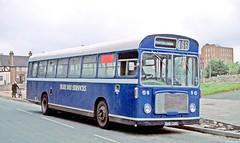 Blue Bus, Rugeley: SHW128G in Cannock Bus Station (Mega Anorak) Tags: bus bristol rell6l ecw bluebusrugeley bristolomnibus cannock