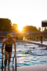 UC Davis Triathlon (MarkusWKaeppeli) Tags: competitions morning pool ucdavis competition race swimming water life college early running ucs sports triathalon