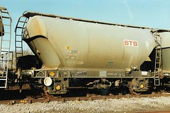 STS 10600 180190 (stevenjeremy25) Tags: pca cement wagon br railway train sts