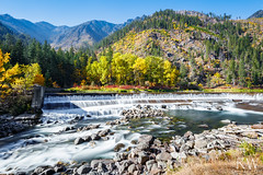 (sleepnever) Tags: fall pnw waterfall water rocks mountain trees colors landscape sky canon5dsr robertwatts leefilters