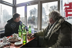 Window On Fuxin (channel packet) Tags: china steam train railway railroad trainspotting fuxin beer davidhill