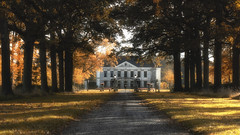 Huis Singraven (MartinFechtner-Photography) Tags: singraven huis kasteellaan denekamp allee alley fall autumn herbst