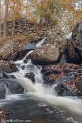 4-watermark (Brian M Hale) Tags: secret waterfall autumn leaves foliage long exposure breakthrough photography filters river stream rutland ma mass massachusetts outside outdoors nature new england newengland usa brian hale brianhalephoto