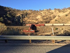 The big let down (DS Chad) Tags: bummer tehachapi cable wine boxcars derailment