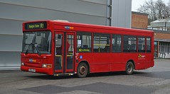 SN54 GPY (tubemad) Tags: sn54gpy metrobus dennis dart mpd slf plaxton pointer bbpg cobham spring rally