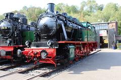 Dampflok 41E (Las Cuentas) Tags: dampflok eisenbahn eisenbahnmuseum züge bahn bahnen alt historisch historic museum canon eos 4000d locomotive locomotives