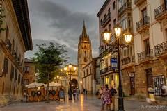 asturias-0176 (JGmeseguer) Tags: arquitectura architecture asturias oviedo catedral nocturna nikon nikond5300 nightphoto hdr sigma1770 spain españa
