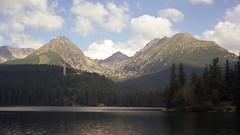 1997-08 Mountains (beranekp) Tags: slovak slovakia high hohe tatra vysoké tatry mountains lake štrbské pleso see