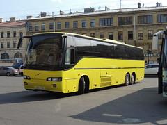 DSCN4318 Nord-S, Saint-Petersburg Н 264 УЕ 178 (Skillsbus) Tags: buses coaches russia nords østfoldbilruter norway volvo b10m70b carrus eurolines baltic
