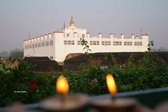 Mayadevi in the Background (Bina Bantawa) Tags: photography mayadevi mayadevitemple lumbini nepal buddha birthplaceofbuddha archaelogicalsite unescoheritagesite