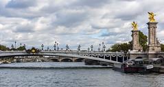 Pont Alexandre III / Мост Александра III (dmilokt) Tags: мост bridge город city town река river пейзаж landscape dmilokt nikon d750