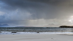 Mellon Udrigle View (syf22) Tags: scotland rosscromarty landscape scenic scenery countryside opencountry westofscotland cloudscape clouds moody storm stormy clearing shower changeable cloudy sky cloudysky overcast weather forecast view panoramic