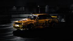 BMW E30 (BringMeTheCamera) Tags: bmw art photography photoshop adobe canon e30 lighting car auto germany essenmotorshow deutschland event eventphotography photographer aspiring print yellow old new bw color