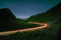 Glen Coe light trails. (iancook95) Tags: