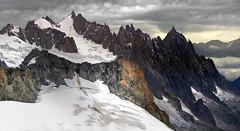 il Re di Spade (art & mountains) Tags: alpi alps montblanc guglie punte creste cime granito roccia torri alpinismo ghiacciaio quota natura silenzio contemplazione spazio grandioso vision dream spirit art