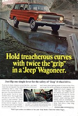 1967 Jeep Wagoneer 4WD Kaiser Jeep Corporation USA Original Magazine Advertisement (Darren Marlow) Tags: 1 6 7 9 4 19 67 1967 k kaiser j jeep w wagoneer 4wd c car cool collectible collectors classic a automobile v vehicle u s us usa united states american america 60s
