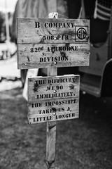 B Company (Rich Presswood) Tags: newsteadabbey nottinghamshire mitakonzhongyi35mmf095 1940s ww2 fujixpro2 reenactor military mirrorless portra160nc ilfordhp5 monochrome bw black white silverefex2