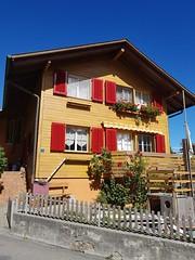 Wilderswil scenes 91 (SierraSunrise) Tags: switzerland wilderswil europe house swiss shutters red