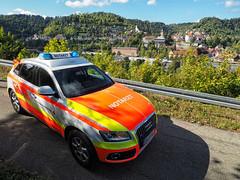 EMS above Oberndorf (Paramedix) Tags: ems rettungsdienst notarzt oberndorf germany deutschland badenwürttemberg redcross roteskreuz nef bluelight ambulance
