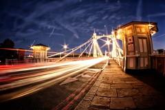 Albert Bridge, London (Dan H Stevens) Tags: samyang 8mm samyang8mm fisheye