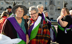 _DSC4877 (BobPetUK) Tags: suffrage flag votesforwomen leeds 2018 relay suffragette citysquare