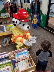 Fire Dept Storytime with Sparky the Firedog