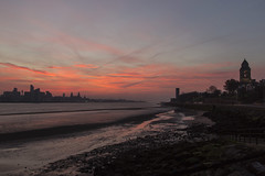 Merseyside Sunrise (David Chennell - DavidC.Photography) Tags: wirral merseyside liverpool dawn redsky daybreak rivermersey