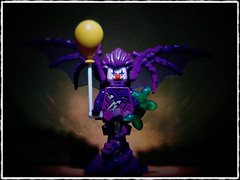 Something Wicked This Way Comes (LegoKlyph) Tags: lego brick block mini figure build clown evil monster horror halloween wings demon vampire dark goth creature demonic laugh
